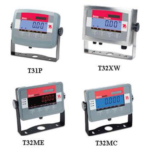Ohaus 3000 Series Indicators T31P T32XW T32ME T32MC