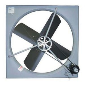 WESCO Commercial Exhaust Fans Shutters